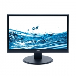 "МОНИТОР 22"" AOC E2250SDA Black (LED, LCD, Wide, 1680x1050, 5 ms, 170°/160°, 250 cd/m, 20M:1, +DVI, +MM)"